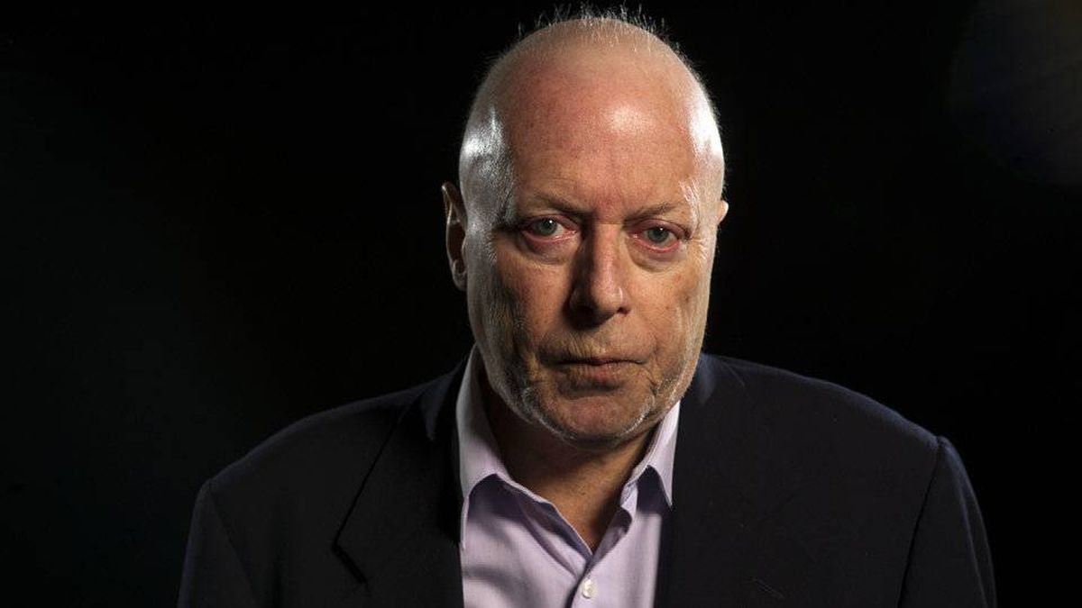 British-born writer Christopher Hitchens died of cancer on Dec. 15, 2011.