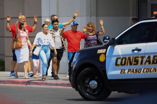3 arrested after multiple fatalities in Walmart shooting in El Paso, Texas