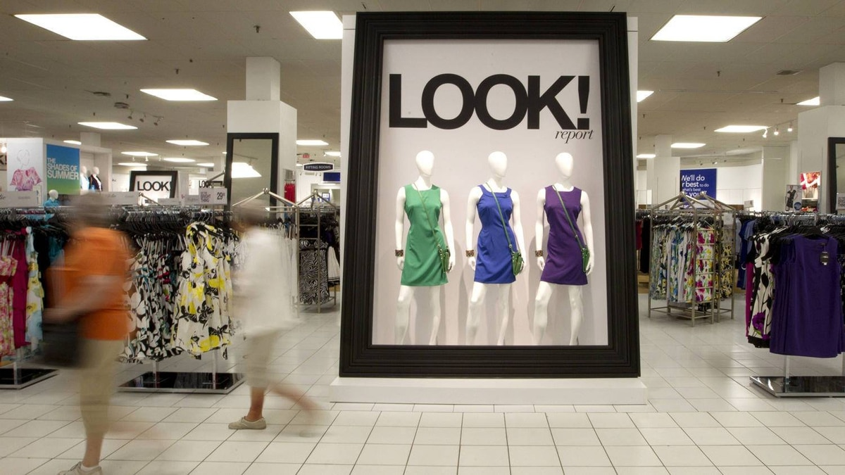 One of the new, brighter displays recently unveiled at Sears in the Upper Canada Mall in Newmarket, Ont.