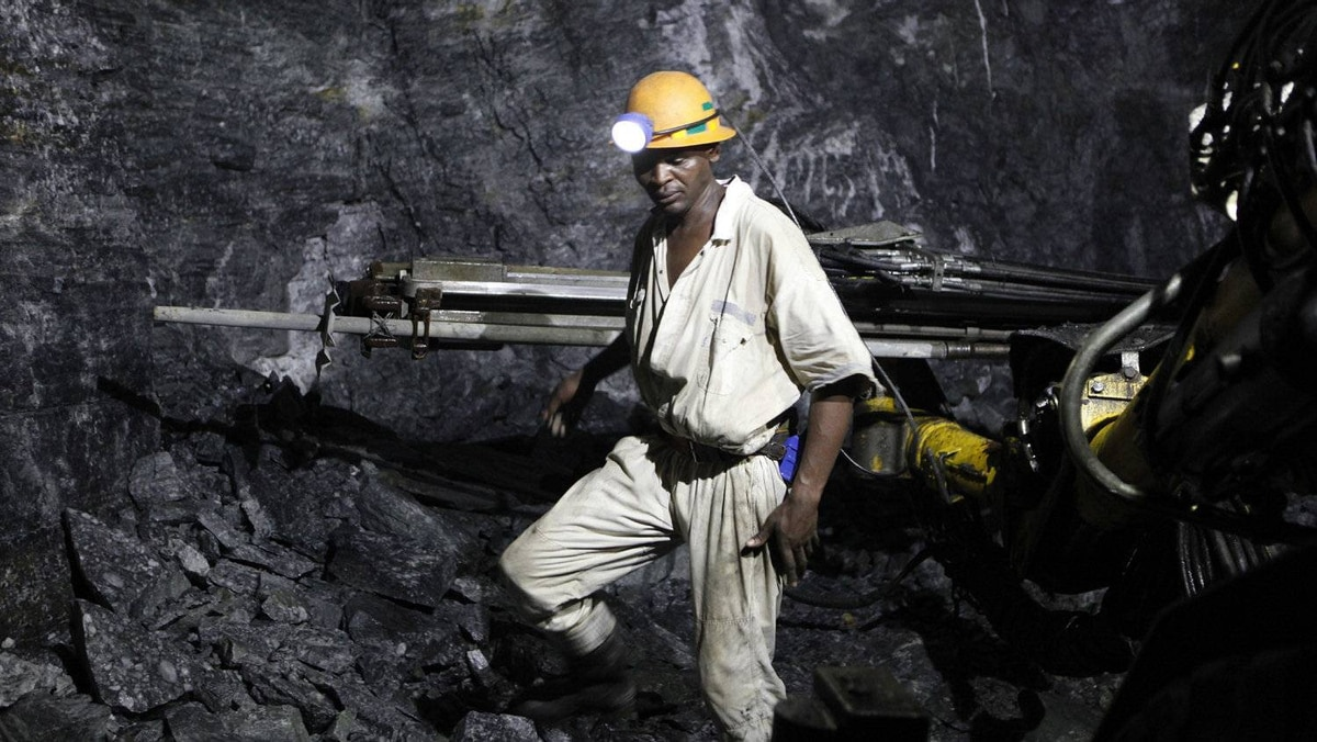 Mine closures in South Africa have cost tens of thousands of jobs. In the town of Welkom, unemployment is estimated at about 60 per cent.
