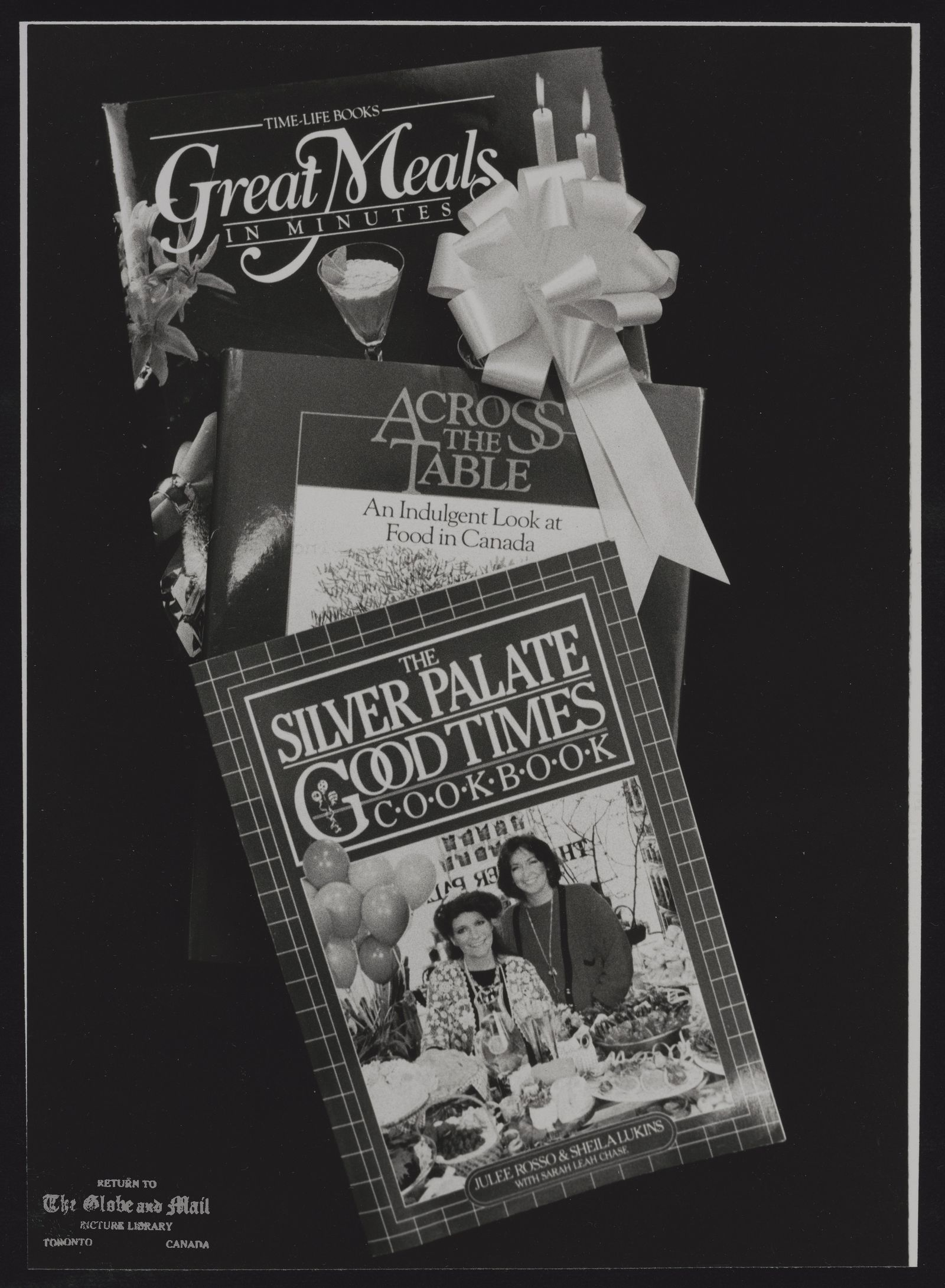 COOKBOOKS Three of the top ten cookbooks for Christmas giving.
