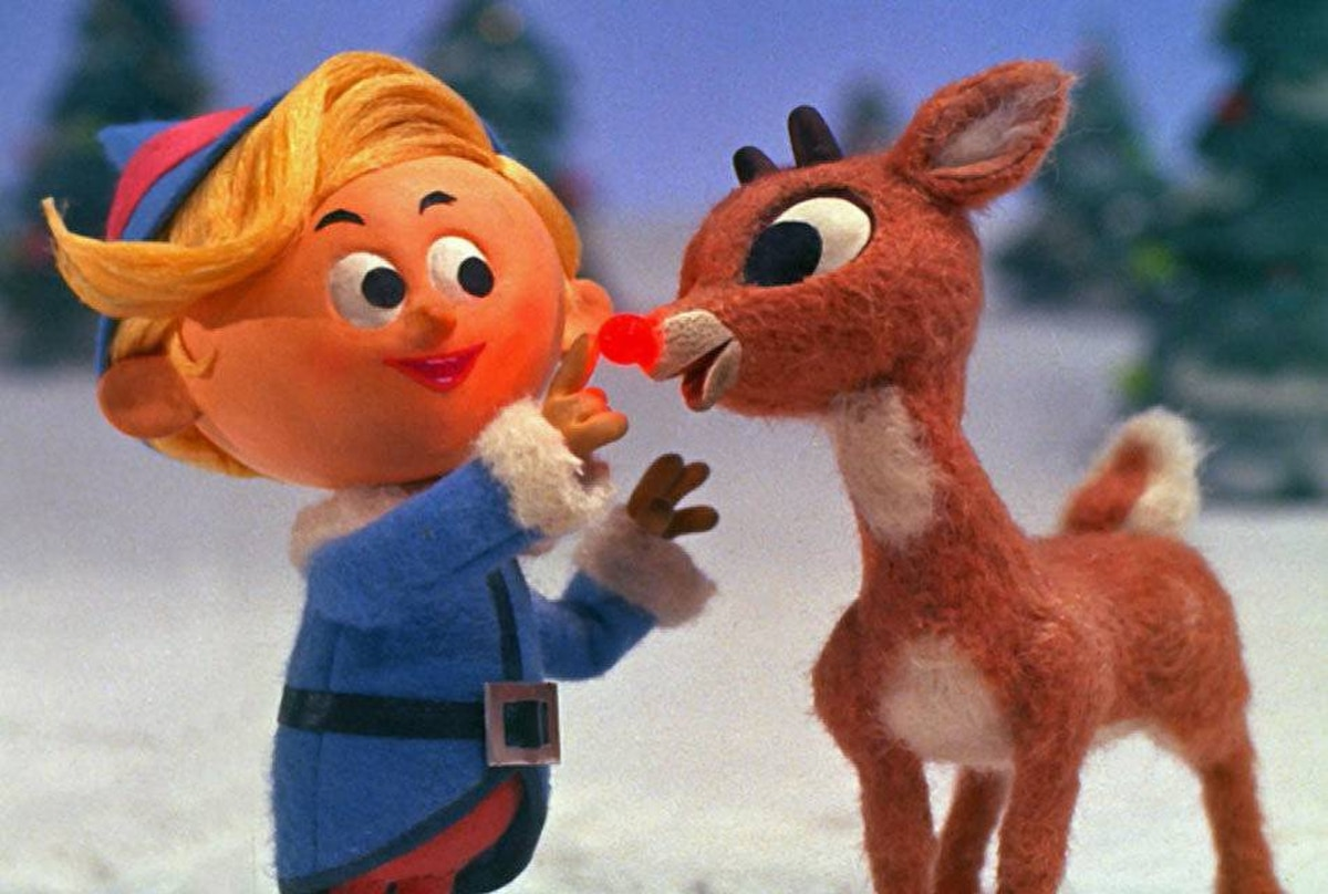 FAMILY Rudolph the Red-Nosed Reindeer CBC, 8 p.m. First broadcast in 1964, this low-tech special continues to pull in impressive ratings each holiday season. Last week's broadcast on CBS drew an astounding 13 million viewers in the U.S. Based on the pop tune by Johnny Marks, it tells the story of Rudolph, a shy reindeer whose shiny red nose has made him an outcast in Christmastown. Rudolph finds redemption and meaning in life with help from a dental-obsessed elf named Hermey and the grizzly prospector Yukon Cornelius. The payoff is seeing that arrogant jerk Santa forced to beg for Rudolph's services.