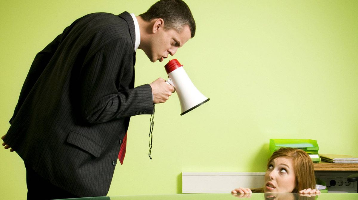 How to deal with an irrational boss