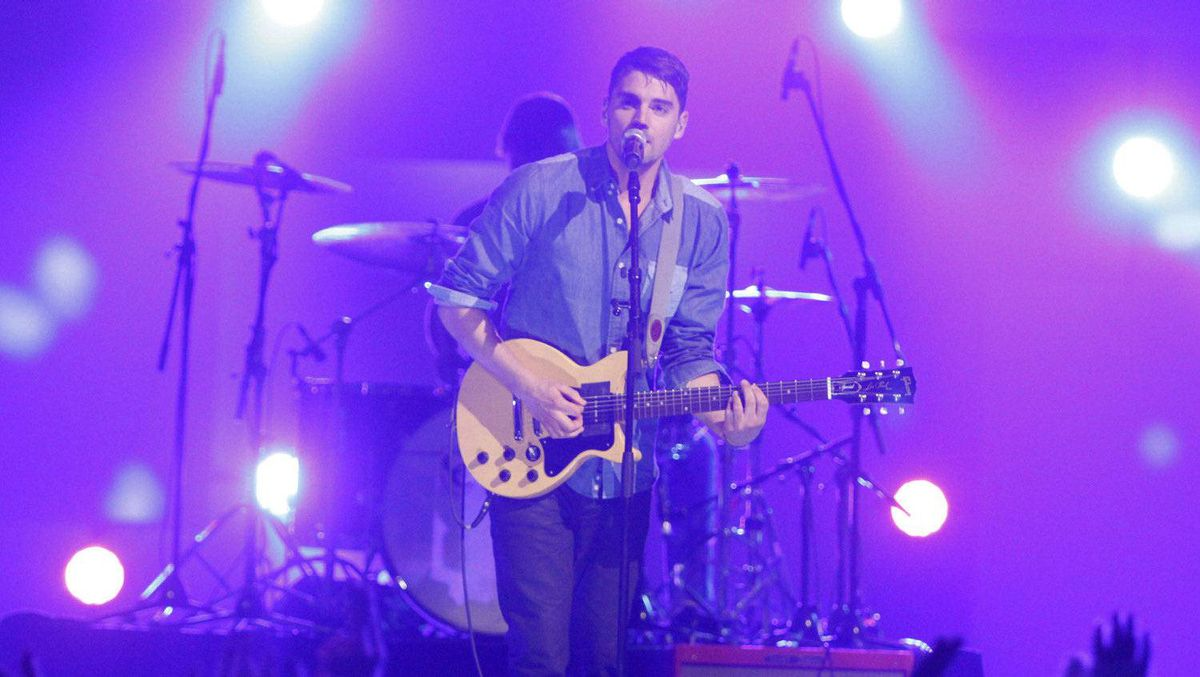 Hey Rosetta! perform during the Juno Awards in Ottawa, Sunday April 1, 2012. THE CANADIAN PRESS/Fred Chartrand