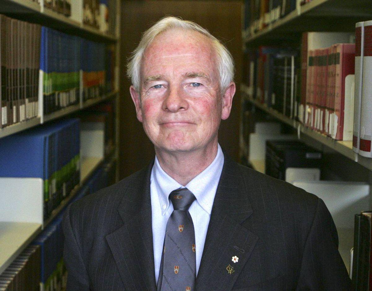 David Johnston, president of the University of Waterloo