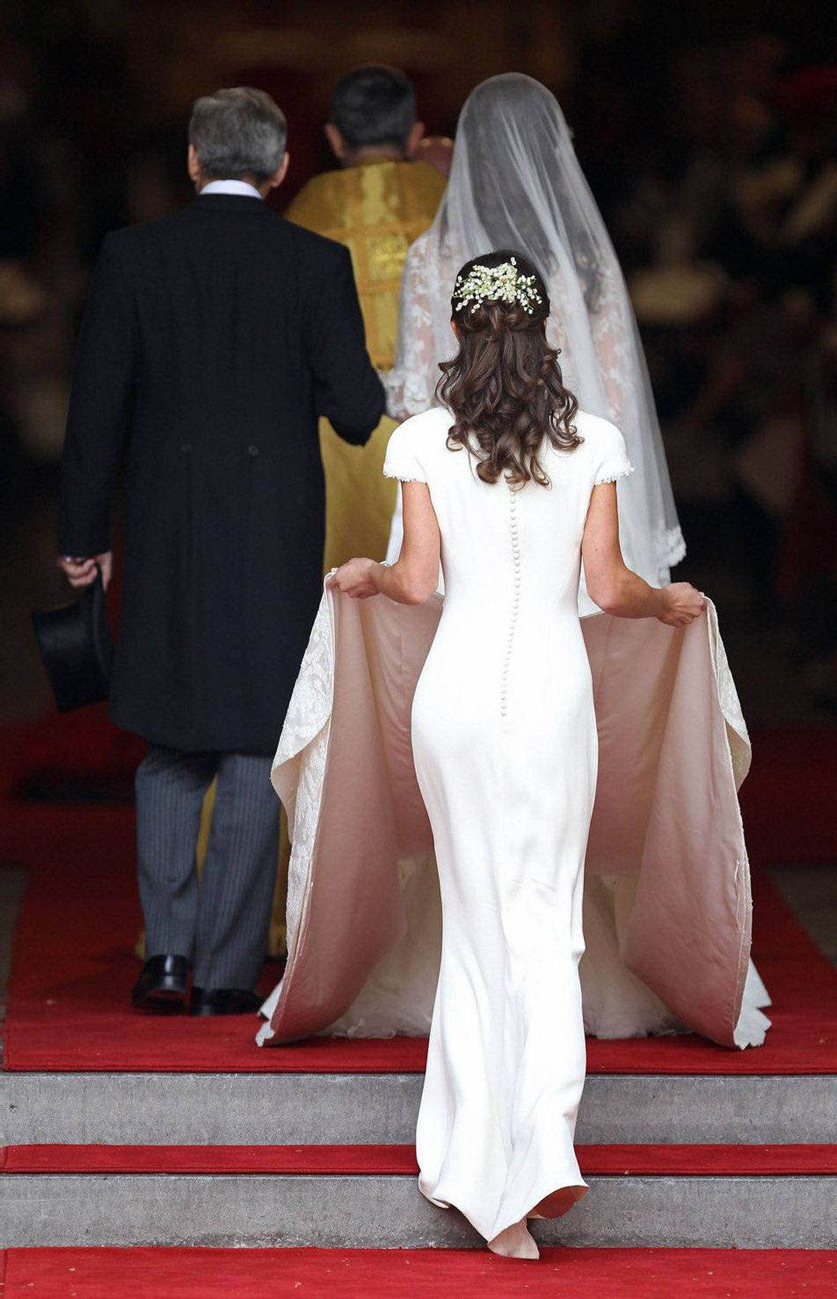 No gambler saw this Royal Wedding scandal coming. Kate's sister, Pippa, made headlines for her curve-hugging maid-of-honour dress. While you're not supposed to outshine the bride, Pippa certainly set more tongues wagging and started a plastic surgery trend: The Pippa Middleton butt.