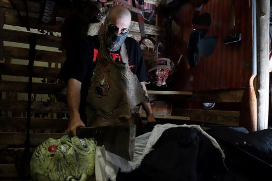 'Not going to let COVID take this holiday': Haunted houses find new ways to scare amid pandemic