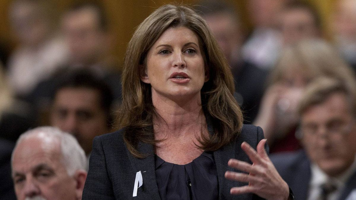 Rona Ambrose speaks during Question Period in the House of Commons.