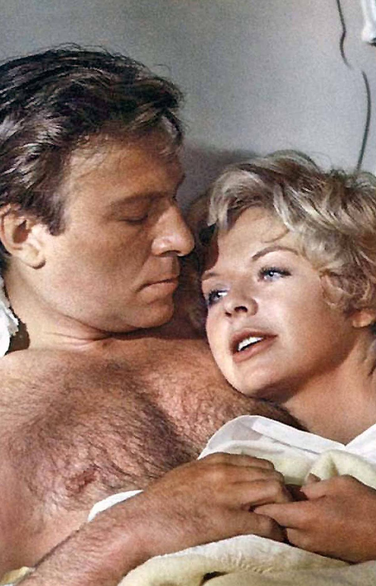 Christopher Plummer and Susannah York in Battle of Britain (1969).