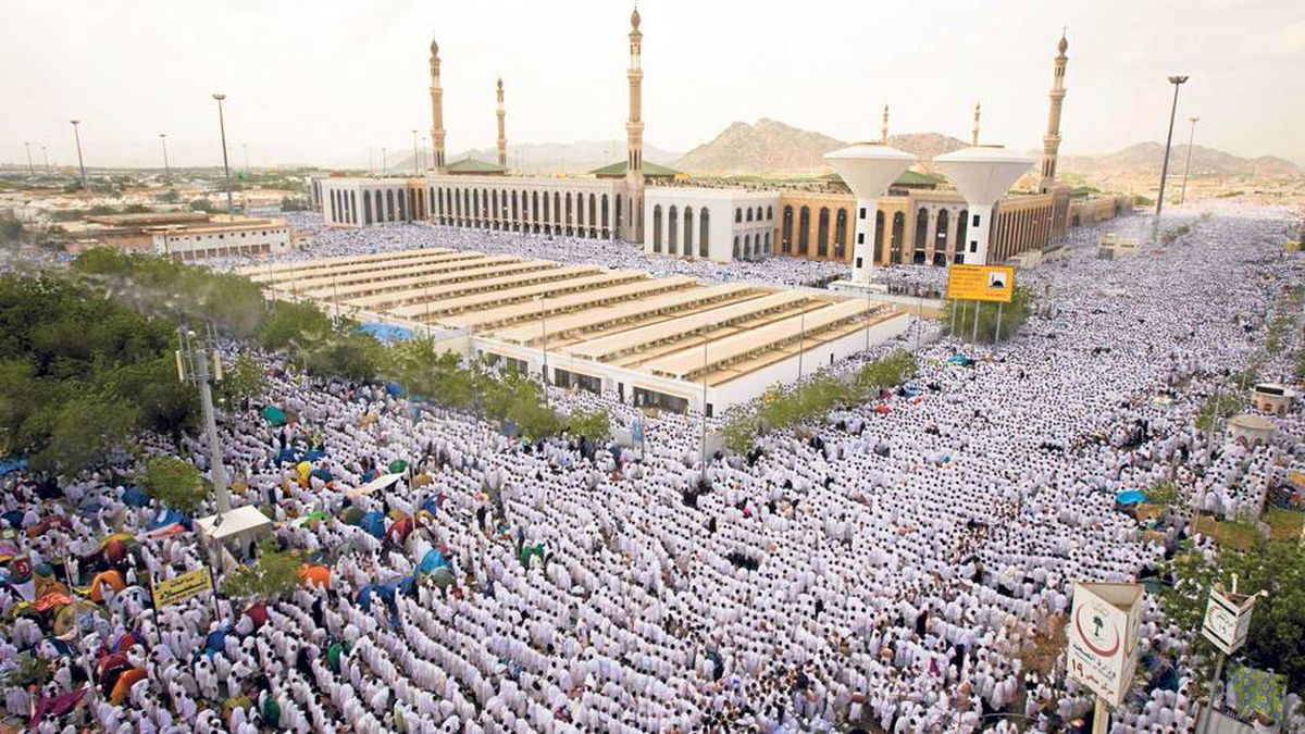 The three made the pilgrimage to Mecca together in late 2006.