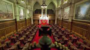 A view of the Senate chamber on Parliament Hill in Ottawa on Thursday Jan. 13, 2011.