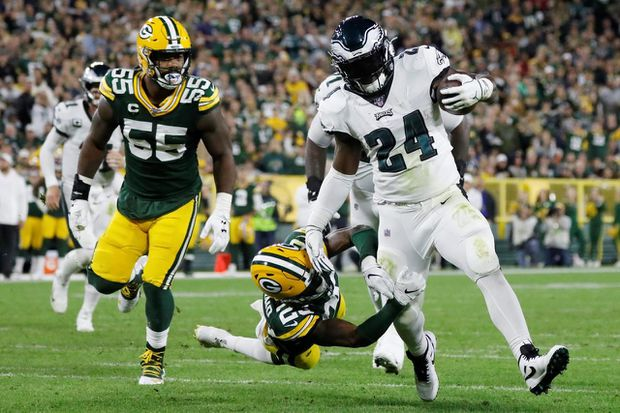 Eagles vs. Packers: Green Bay won't run away with this one
