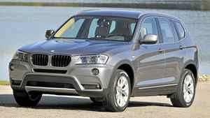 2011 BMW X3 xDrive__Credit: BMW *** Local Caption *** BMW X3 xDrive20d (10/2010)