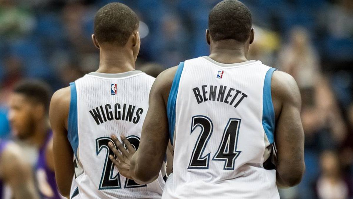 Andrew Wiggins and Anthony Bennett are up in the air - The Globe and Mail ab3f174be