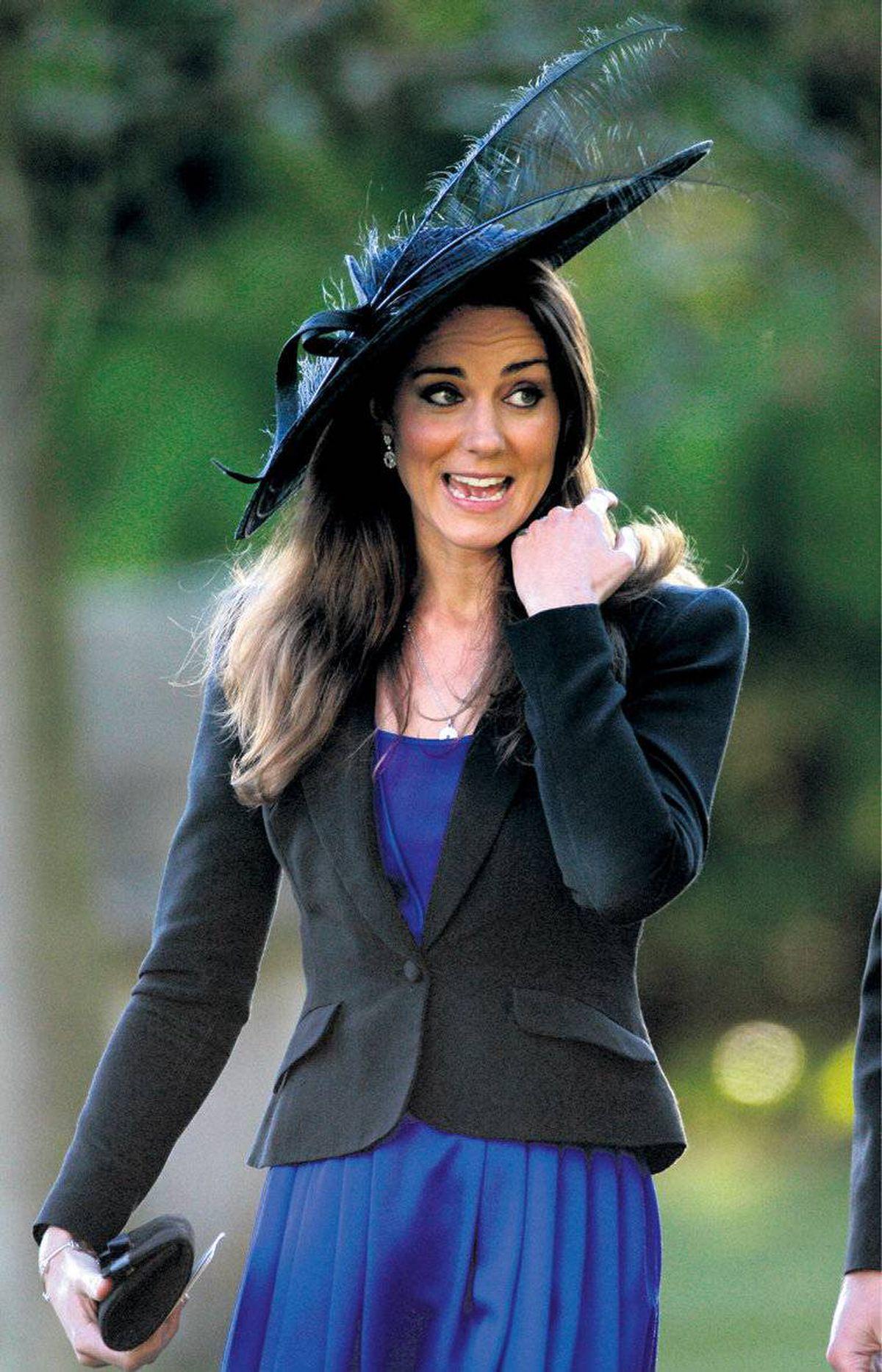 Kate Middleton: Perfect plumage