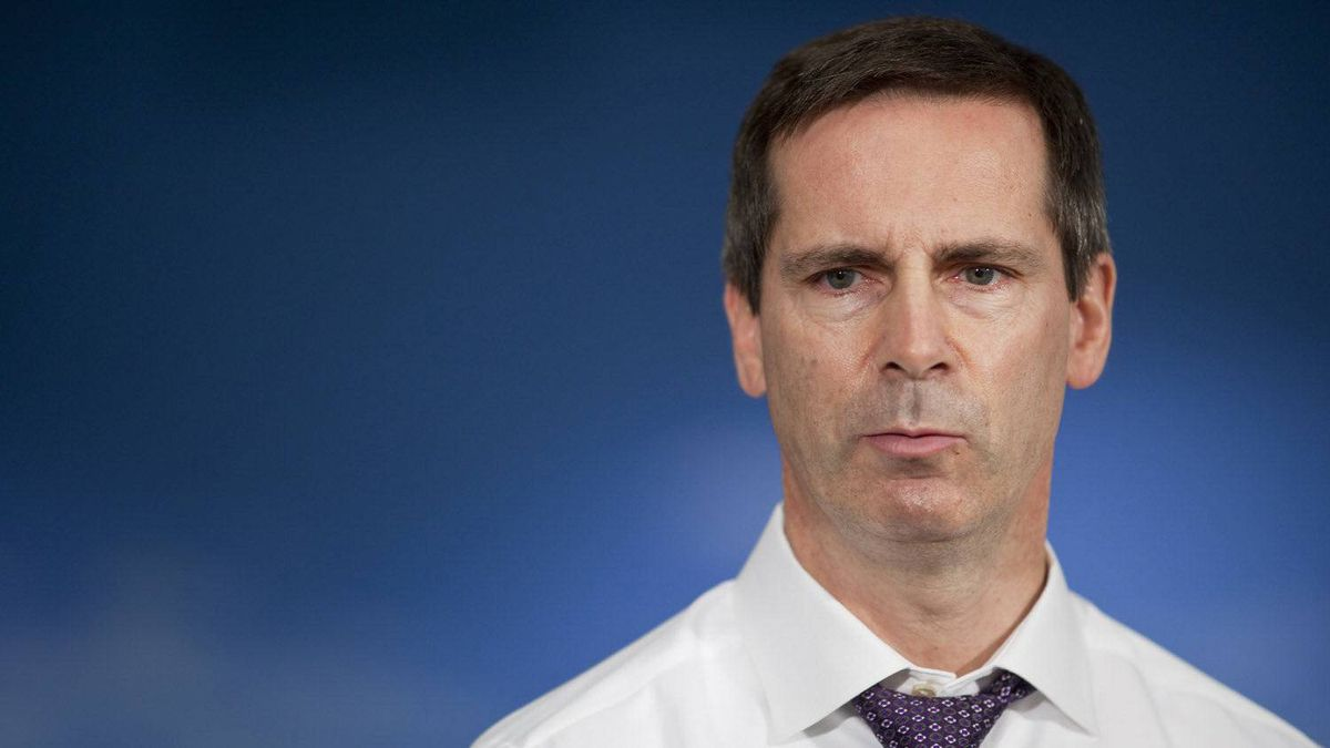 Ontario Premier Dalton McGuinty. Geoff Robins for The Globe and Mail