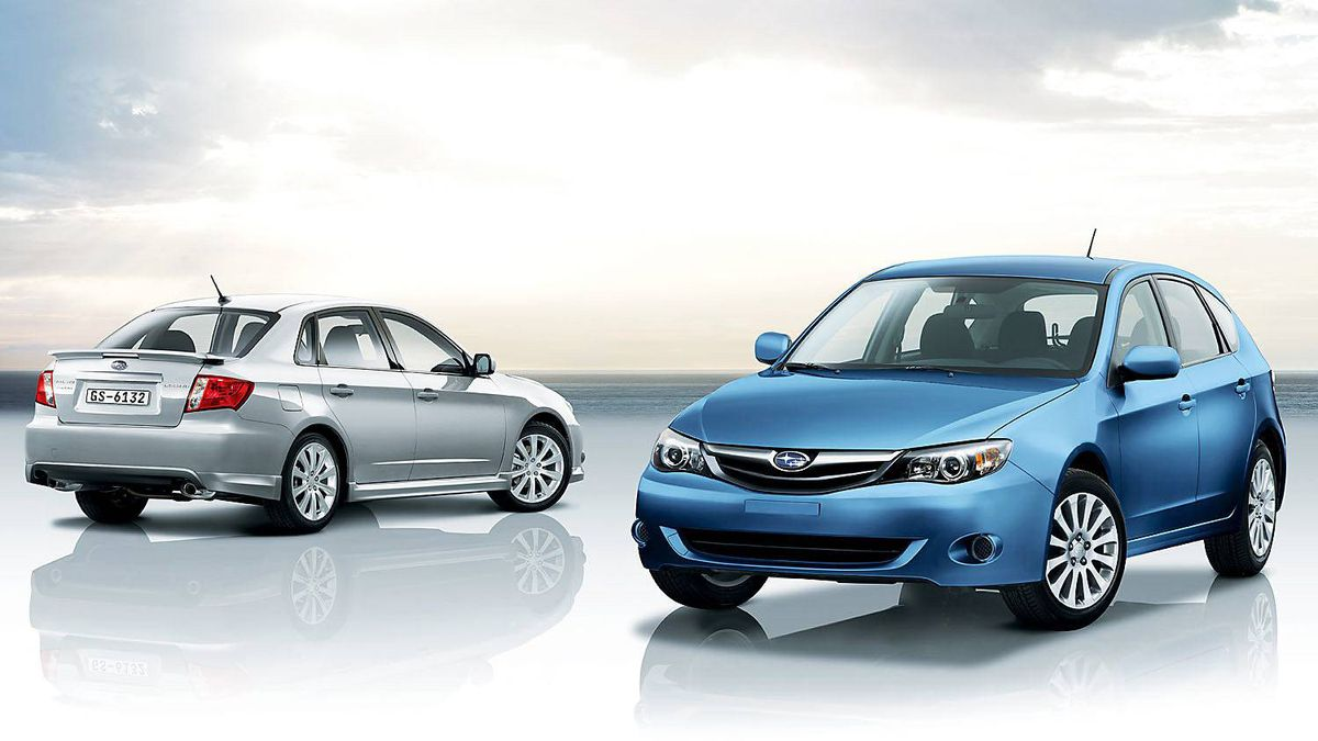 2011 Subaru Impreza (except WRX): Standard all-wheel drive is a big selling point for the Impreza.