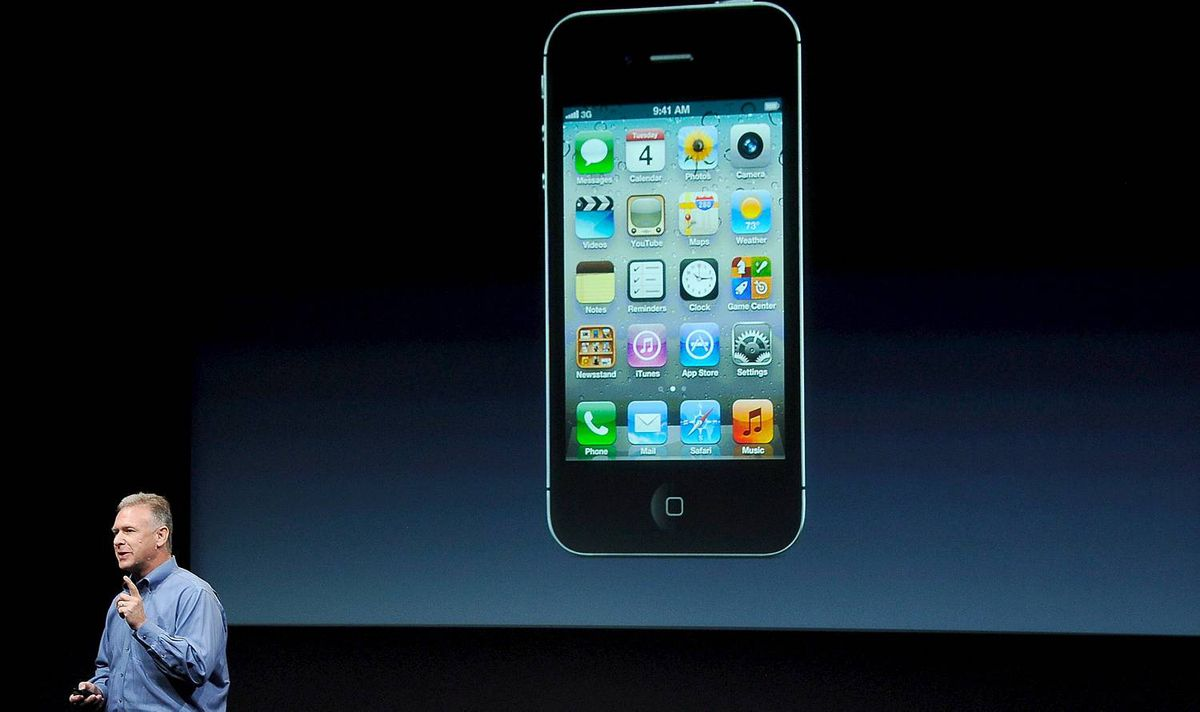 New Apple CEO Tim Cook Introduces iPhone 5