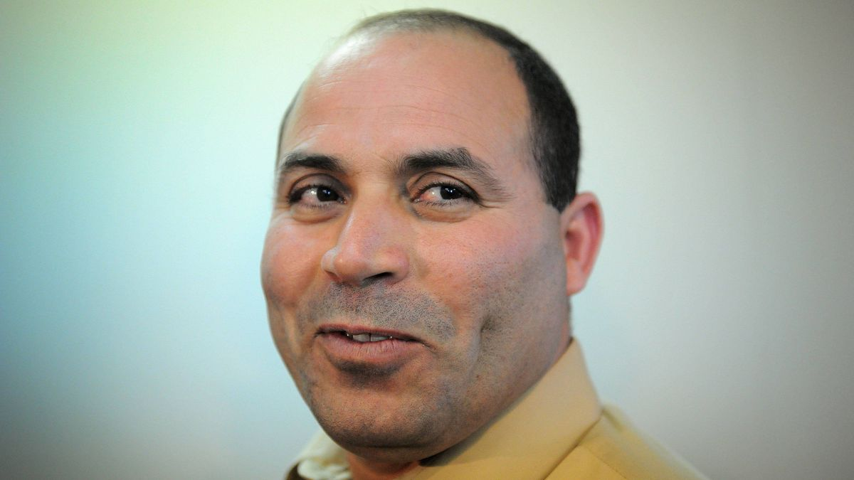 Mohamed Harkat takes part in a press conference in Ottawa on Wednesday, April 25, 2012.