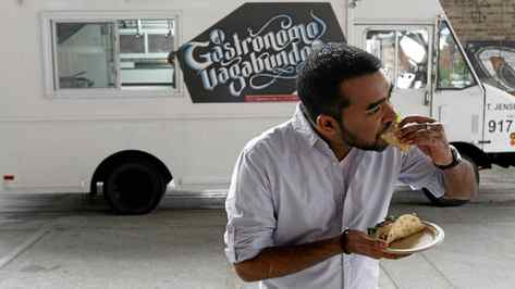 Suresh Doss, the organizer of the Food Truck Eats events.