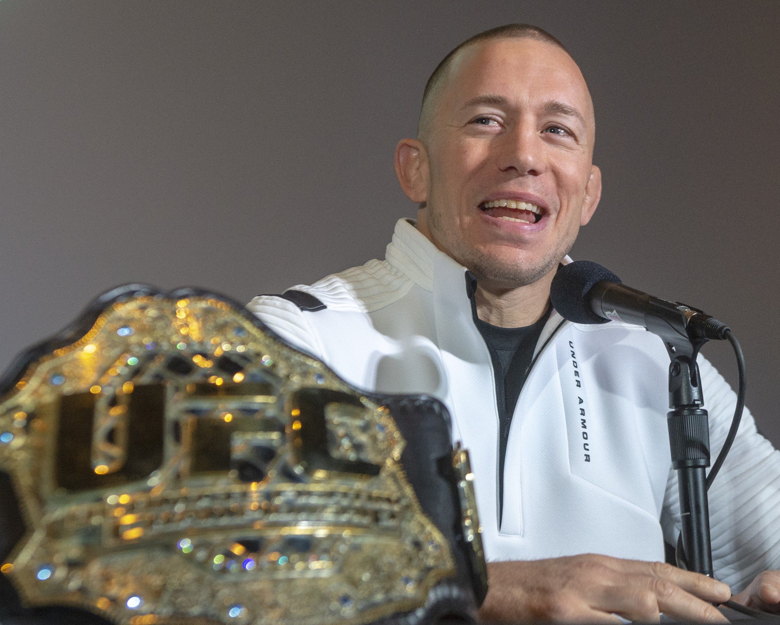Farewell Georges St-Pierre; we hardly knew ye