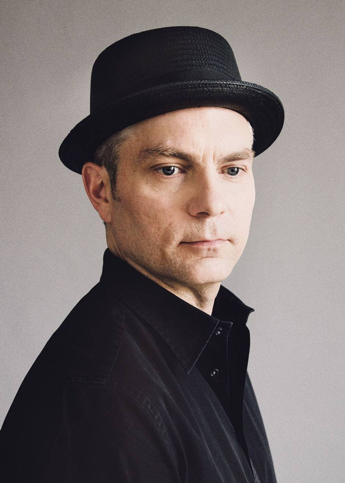 'For me, men wearing hats is a transportation to the world of film noir, of detectives and agents and bad guys all finding the right colour and style and tilt angle for their head wear. For those strong, silent types, a hat is an introduction and, sometimes, a warning.' -Andrew Pyper, bestselling author of The Guardians Big It Up porkpie hat, $90 through www.bigitup.com.