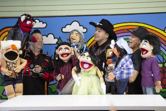 Alberta First Nation uses puppets to promote coronavirus safety messages