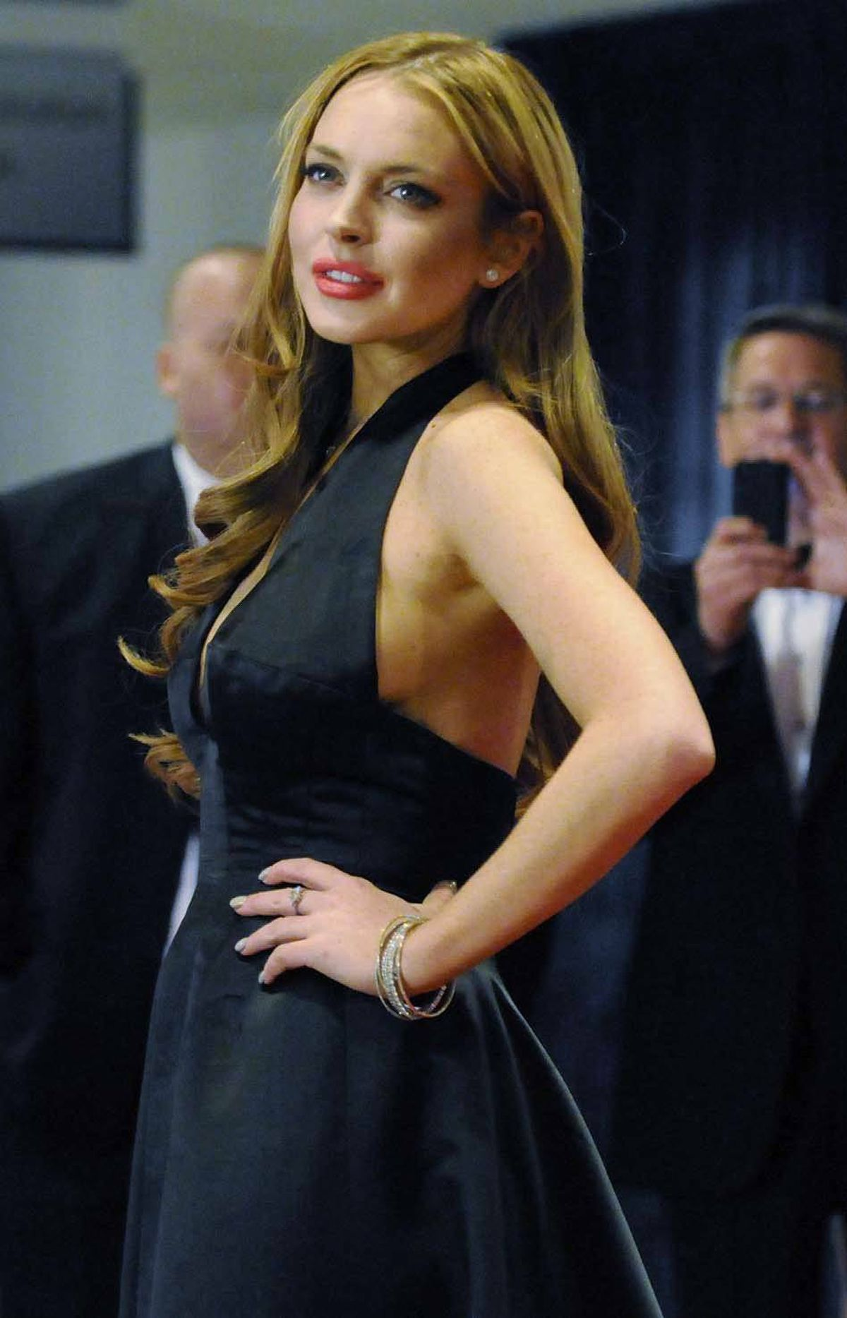 Celebrity morgue janitor Lindsay Lohan also made perfect sense on the guest list for an event put on by a press corps dedicated to keeping the excesses of the elite in check. Where else would she be?