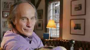 Author Richard Ford at home in East Boothbay, Maine.