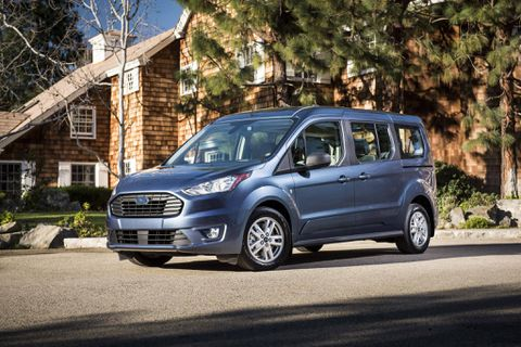 Ford Transit Connect Wagon debuts in Chicago