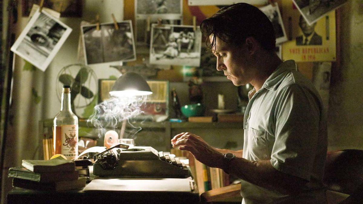 """Johnny Depp in a scene from """"The Rum Diary"""""""