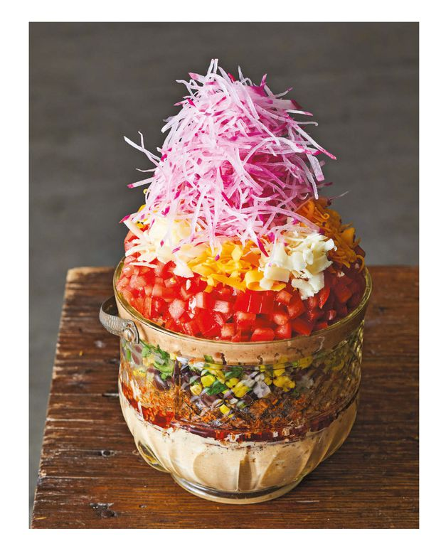 Matty Matheson S New Cookbook Focuses On Comfort Starting With This Generous And Hearty Seven Layer Dip The Globe And Mail