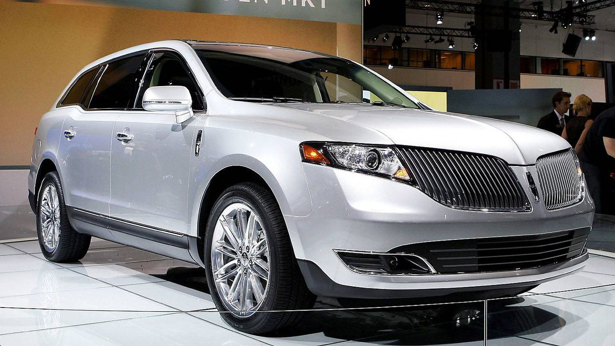2013 Lincoln MKT is seen after its debut at the Los Angeles Auto Show Thursday, Nov. 17, 2011.