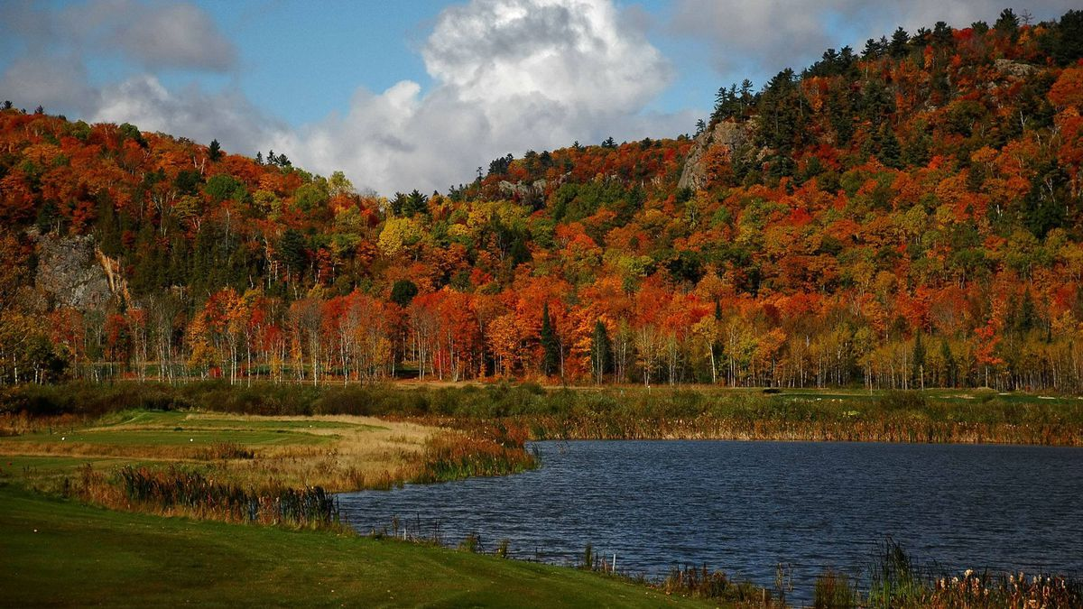 Silver Creek Golf Course in Garden River, Ont. is a good place to tee off and admire the fall colours.