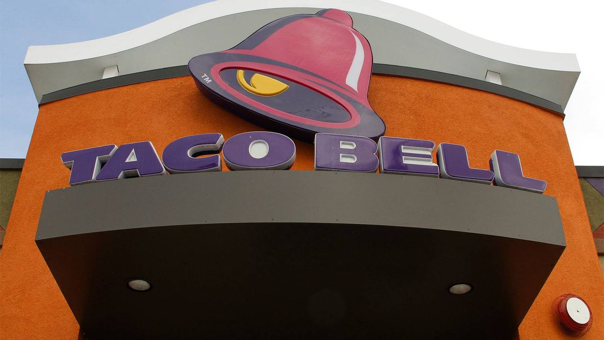 A Taco Bell restaurant is pictured in Burbank, California April 19, 2011.