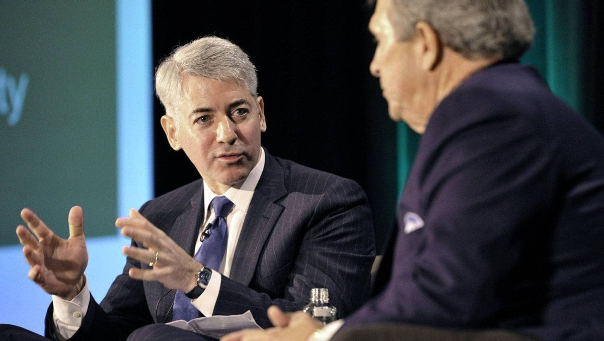 Activist shareholder William Ackman of Pershing Square Capital Management speaks beside Hunter Harrison (R) during the Canadian Pacific Railway Ltd. shareholders and analysts meeting in Toronto February 6, 2012.