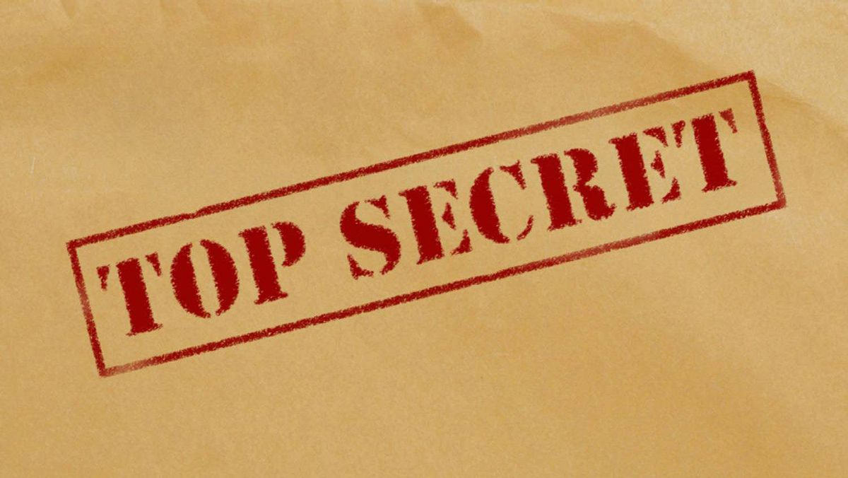 Top Secret envelope