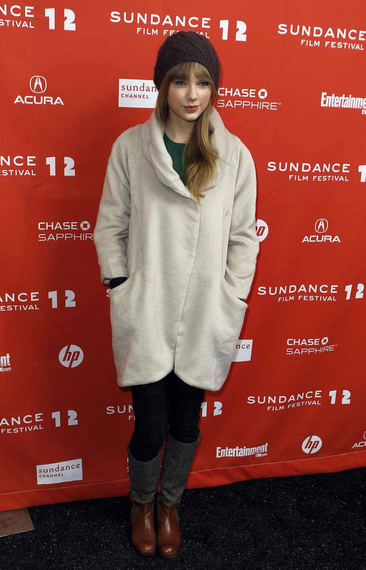 """Singer Taylor Swift attends the premiere of the documentary film """"Ethel"""" at the Sundance Film Festival on Friday."""