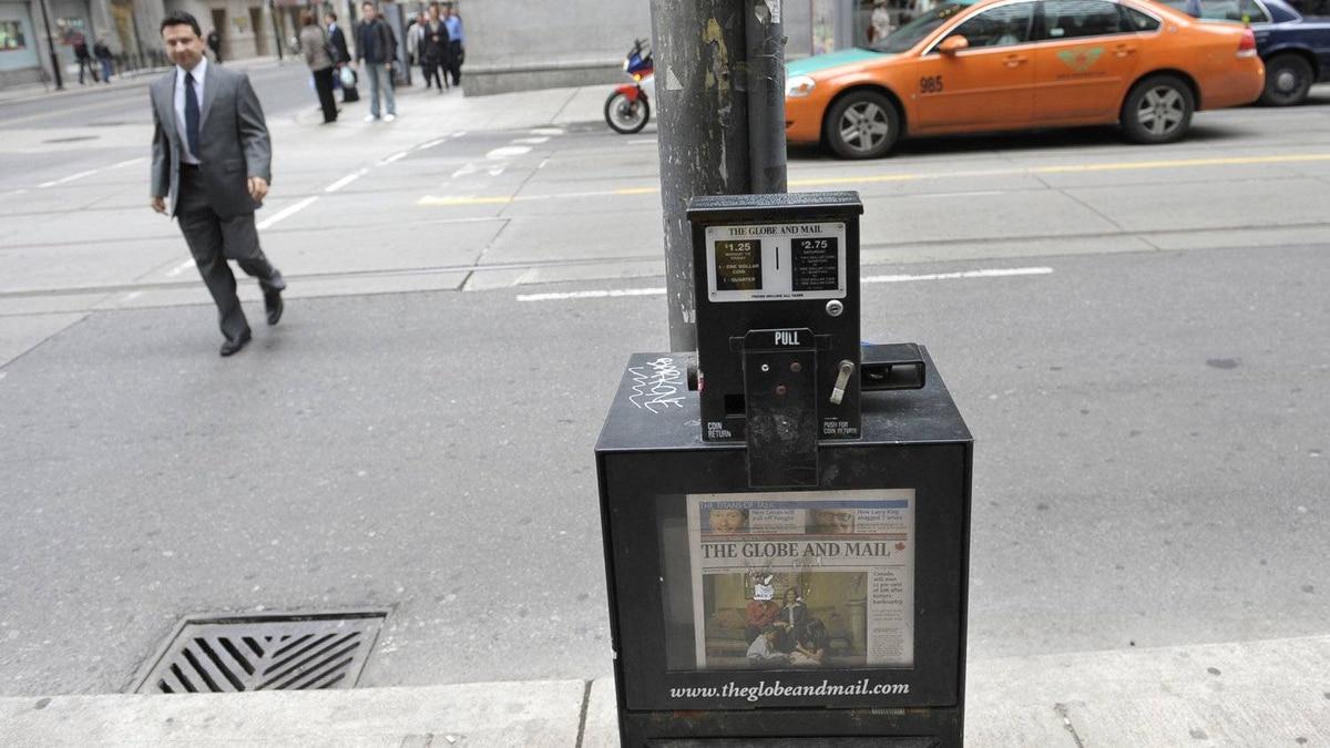 Globe and Mail box
