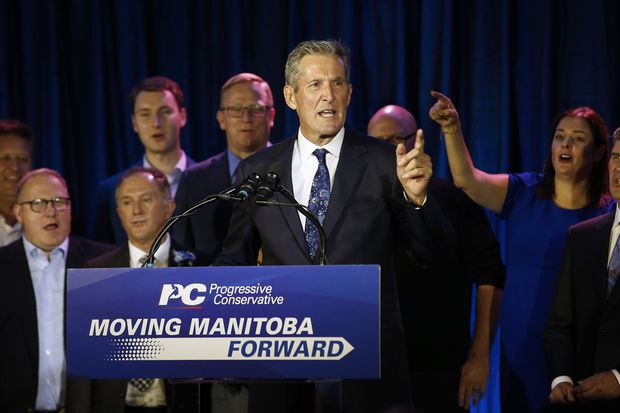 Pallister's PCs re-elected with majority in Manitoba, solidifying bloc of conservative premiers opposing Trudeau