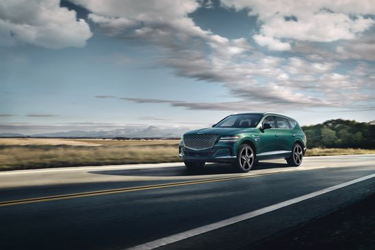 The first Genesis SUV officially comes to Canada