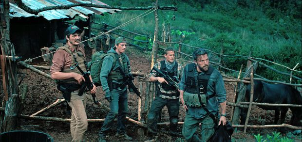 Review Netflix S Triple Frontier Features Ben Affleck S Supersad Dad Routine And Briefly Transcends Narco Sploitation Territory The Globe And Mail