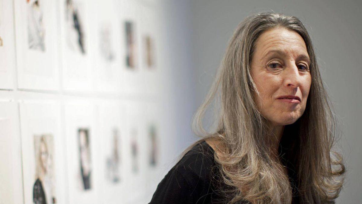 Carole Freeman at the Edward Day Gallery in Toronto, Nov. 30, 2011.