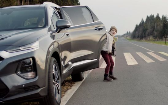 New Hyundai safety feature prevents rear-seat passengers from stepping out into traffic