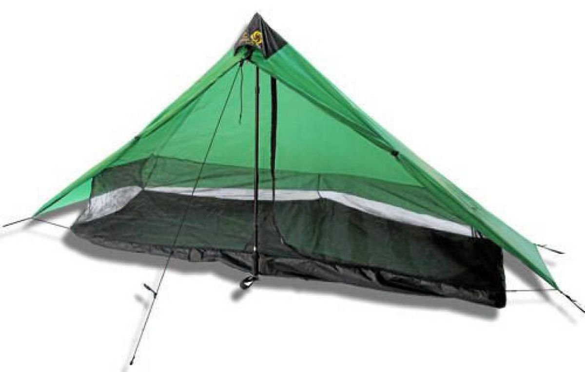 The Lunar Solo Tent weighs just over half a kilogram.