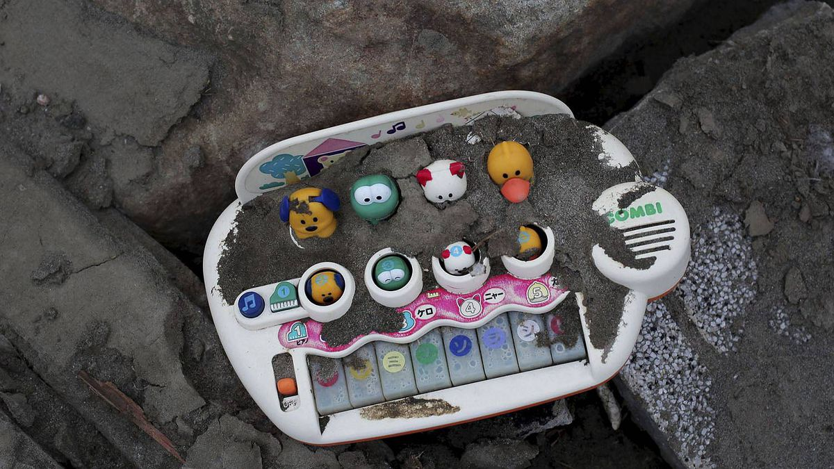 Personal Possessions Unearthed Amidst Japan's Rubble