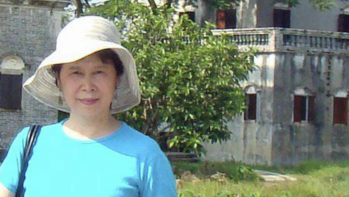 Author Ling Zhang in China.