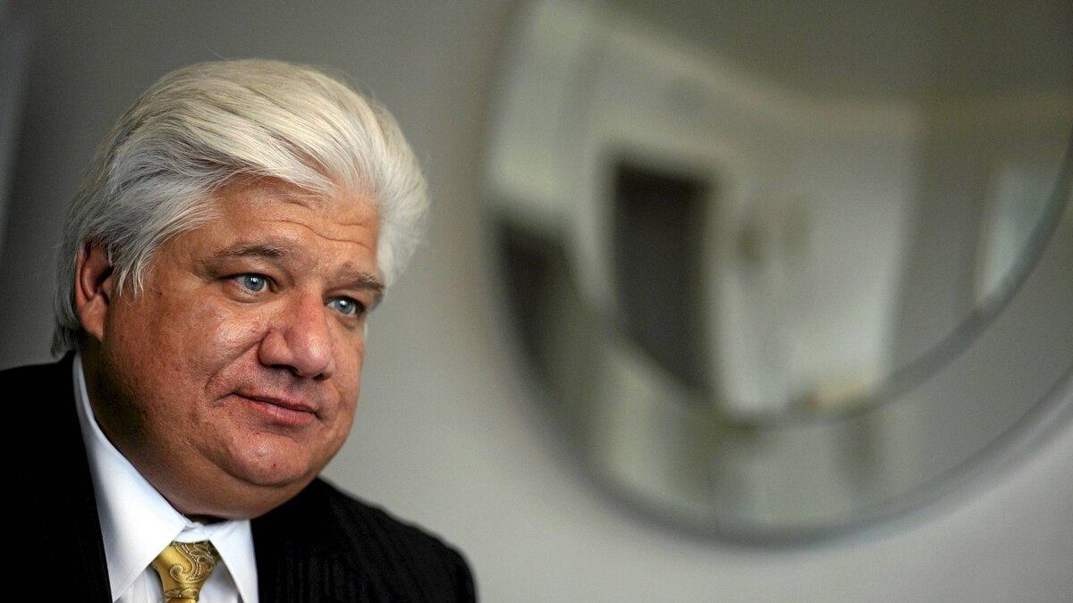 Mike Lazaridis, the founder of Research In Motion, in New York, Aug. 3, 2010.