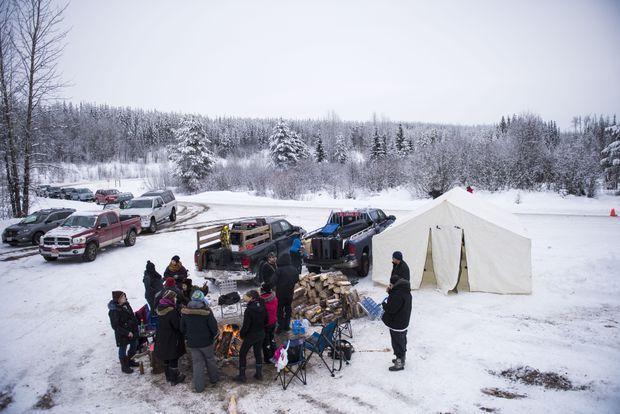 Risultati immagini per British Columbia Wet'suwet'en
