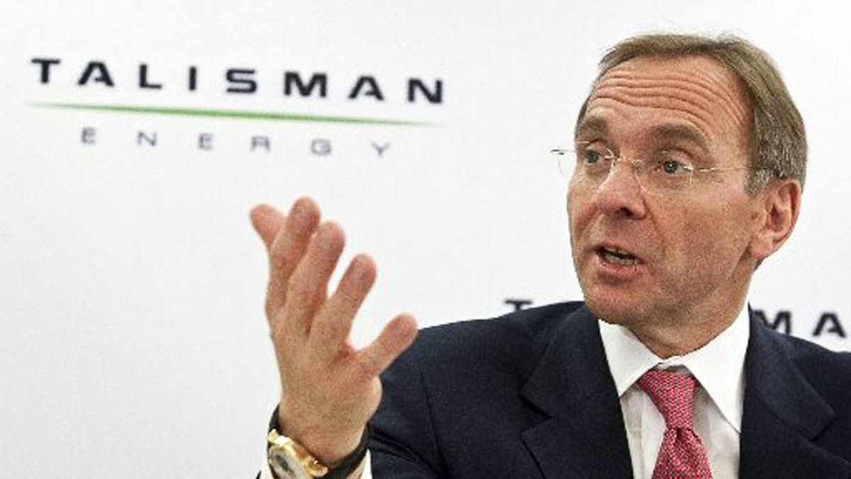 John Manzoni, former president and CEO of Talisman Energy